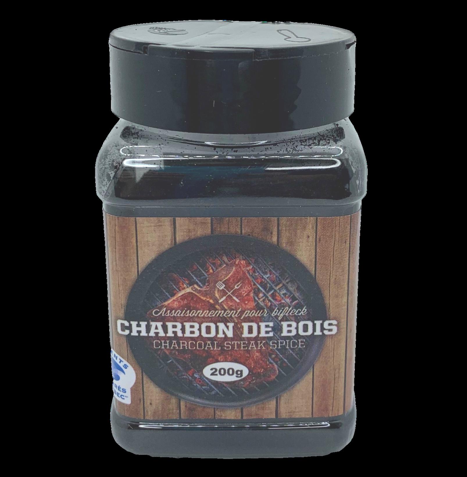 Charbon de bois / steak