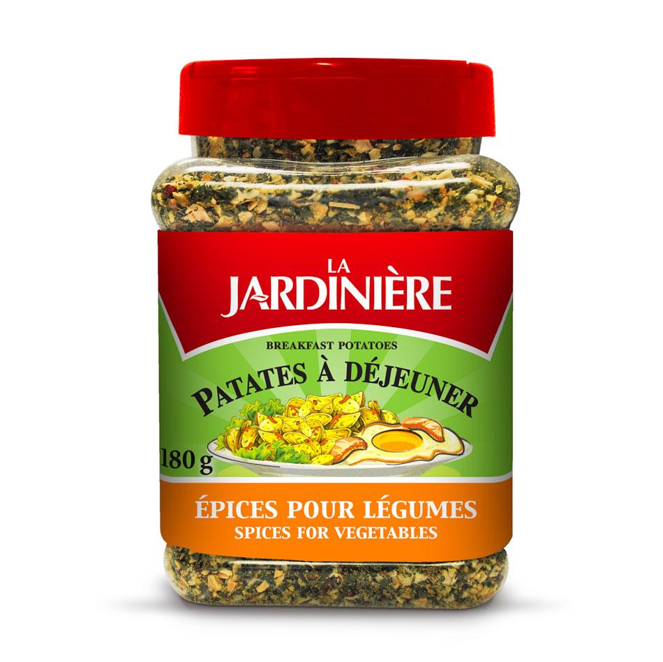 ASSAISONNEMENT JARDINIÈRE PATATES À DÉJEUNER